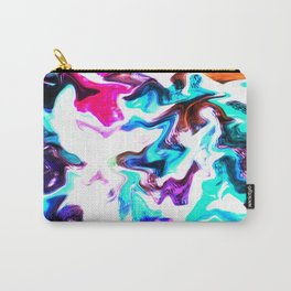 MARBLE BLUR 01 Carry-All Pouch