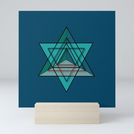 Star Tetrahedron Mini Art Print