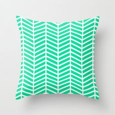 BLISS- TURQUOISE Throw Pillow