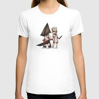 silent hill T-shirts featuring Silent Plushie Hill by Ludwig Van Bacon