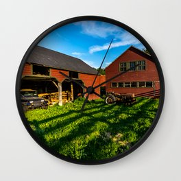 Jeep, Tractor & Barn Wall Clock