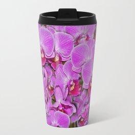 Pink Orchid Joy Travel Mug