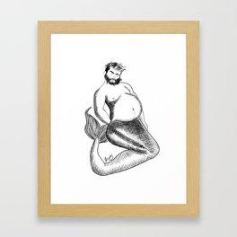 Merbear Framed Art Print