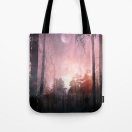 Silent Answer Tote Bag