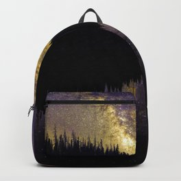 Campfire Under the Stars by OLena Art Backpack
