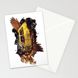 The Big Bang | Collage Stationery Cards