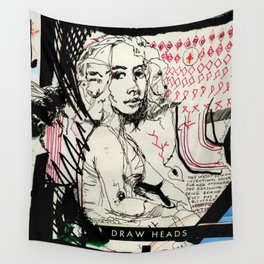 Drawn Attention Wall Tapestry