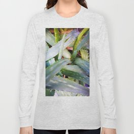 texture of tropical plants in green color. For clothes, furniture, art in general, other products Long Sleeve T-shirt