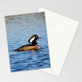 Hooded Merganser Drake Stationery Cards