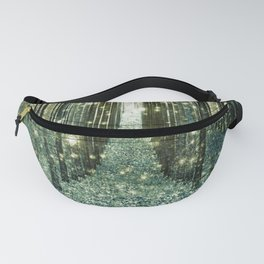 Magical Forest Old Money Green Fanny Pack
