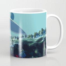 On an Icy Planet Coffee Mug