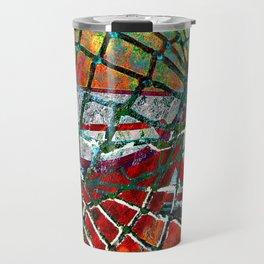 Basketball art print 174 Travel Mug