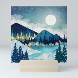 Morning Stars Mini Art Print