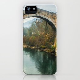 Asturias Roman Bridge iPhone Case