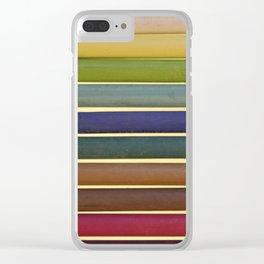 Chalk Sticks Clear iPhone Case