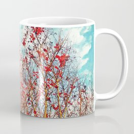 I Scratch the Sky Coffee Mug
