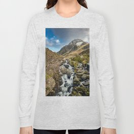 Tryfan and Ogwen Falls Long Sleeve T-shirt