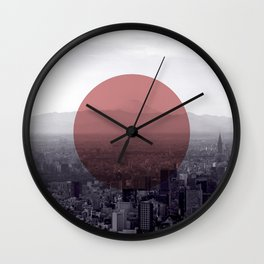 Fuji in the Distance - Remastered Wall Clock