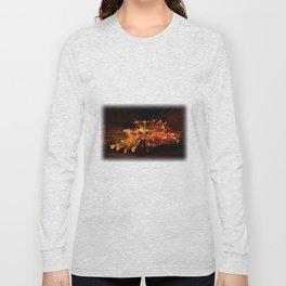 Candy Cane Lane Chevy Truck Long Sleeve T-shirt