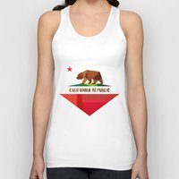 monika strigel Tank Tops featuring California by Fimbis