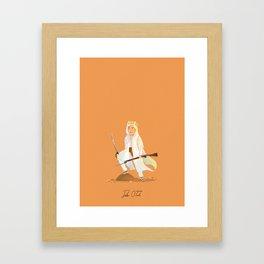 Peter O'Toole - Lawrence of Arabia Framed Art Print