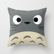 Curiously Troll ~ My Neighbor Troll Throw Pillow