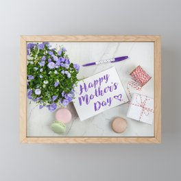 Mother's day Framed Mini Art Print