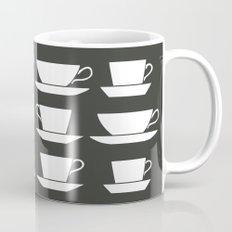 Pattern of Coffee and Tea Cups Mug