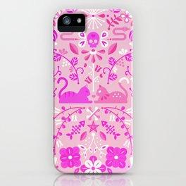 Kitten Lovers – Pink Ombré iPhone Case