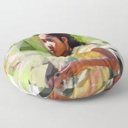 Bright Day Floor Pillow