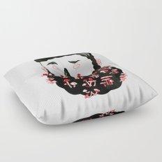 Mushroom Beard Dude Floor Pillow