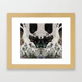 Starry Forest Framed Art Print