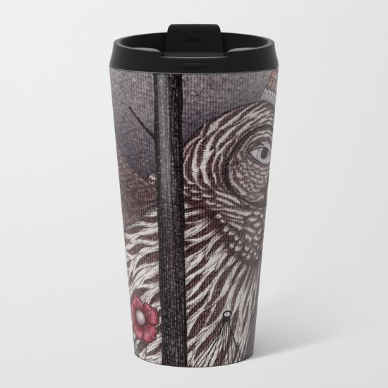 Jorinda and Joringel (1) Metal Travel Mug