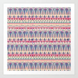 Pink Pines Art Print