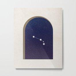 Aries Night - Constellation Metal Print