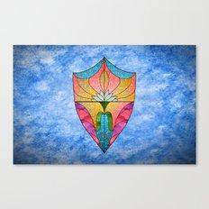 Lotus Shield Canvas Print