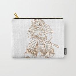 Bushi Samurai Warrior Drawing Carry-All Pouch