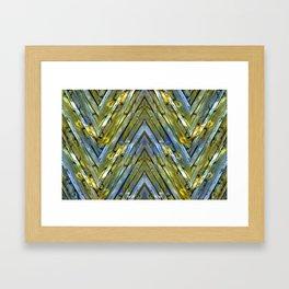 Knotty Plank Texture 2 Framed Art Print