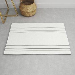 Modern Grey Lines Rug