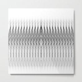Coconut Palm Comores Metal Print