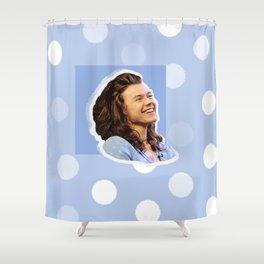 Harry Styles Polka Dot Shower Curtain