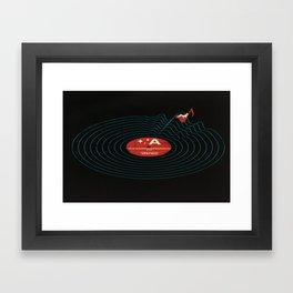 Soundwaves Framed Art Print
