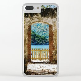 Lost Portals Clear iPhone Case