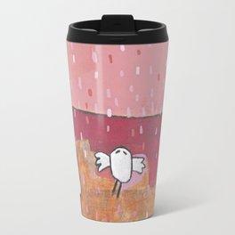 Pink rain Travel Mug
