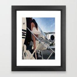 Have a nice trip! Framed Art Print