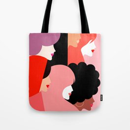 Together we persist  #girlpower Tote Bag