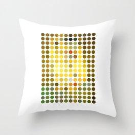 Gustav Klimt Remixed (2009) Throw Pillow