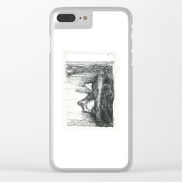 Below the Surface Clear iPhone Case