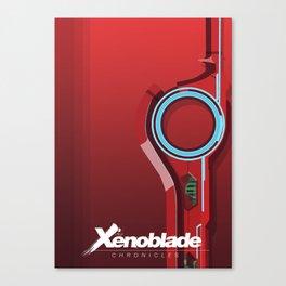 Crimson Monado (Inspired by Xenoblade Chronicles) Canvas Print