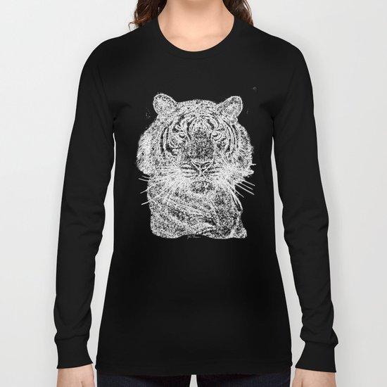 Tiger line drawing w Long Sleeve T-shirt